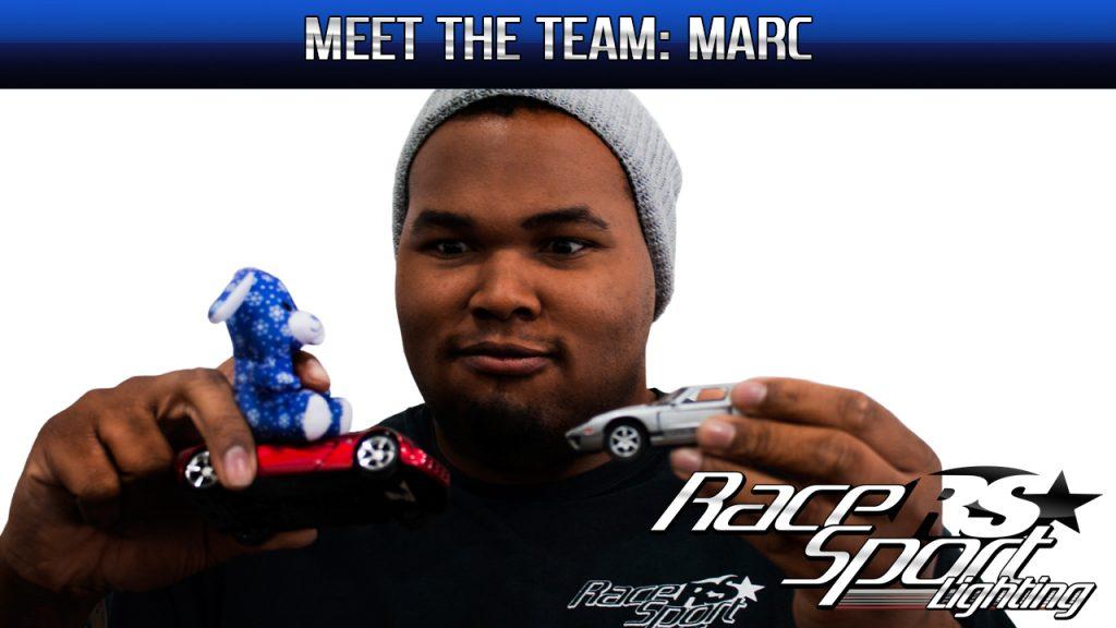 Meet The Team: Marc