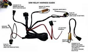 Relay Resistor Harness