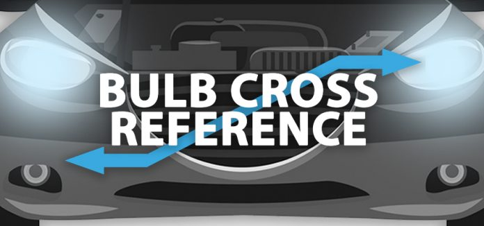 Bulb cross reference