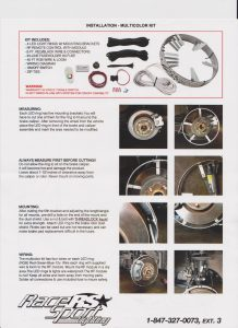 LED Wheel Light Kit
