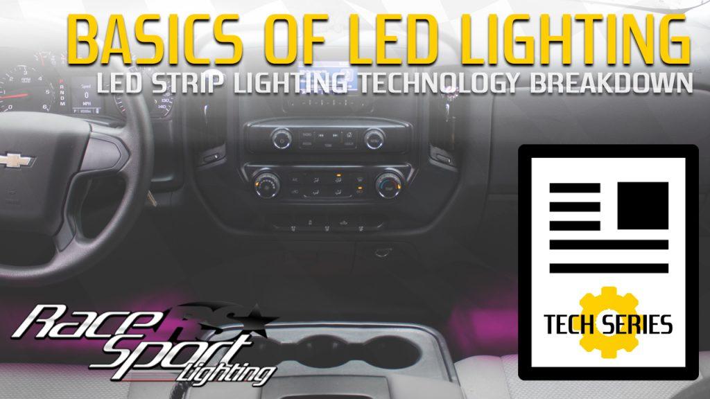 Basics of LED Lighting: LED Strip Lighting