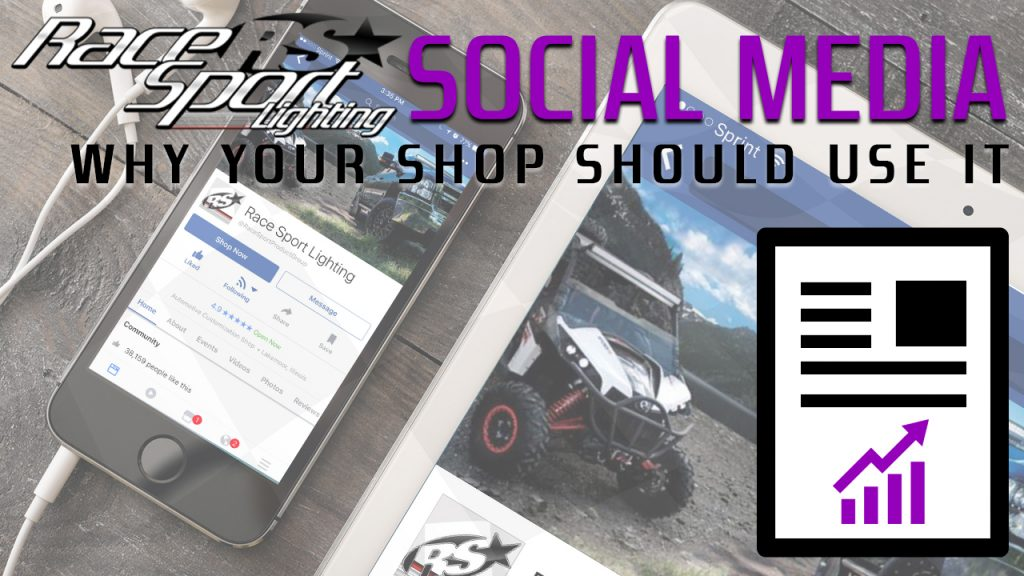 Why Your Shop Should Use Social Media