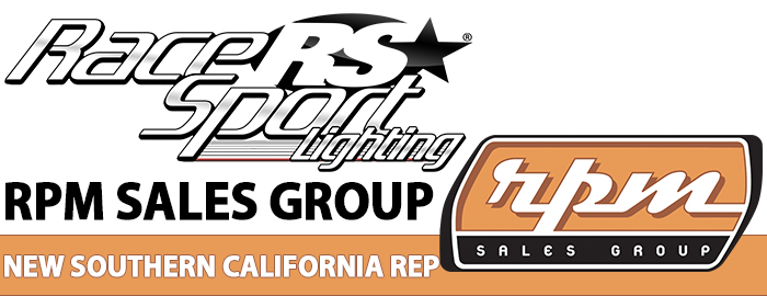 Race Sport Lighting® Announces RPM Sales Group to Rep Southern California Territory