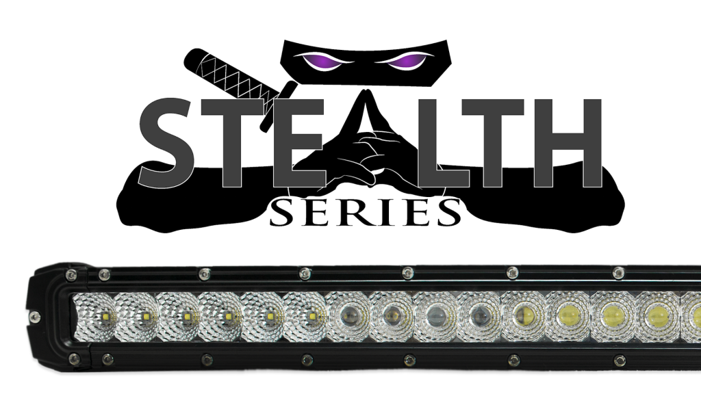 Stealth LED Light Bars