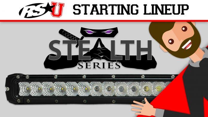 Stealth LED Light Bars
